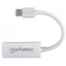 Manhattan - Adaptador Fast Ethernet USB 2.0 - 506731
