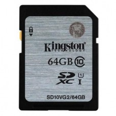 Kingstone - Memoria SDHC 64GB CL10