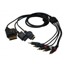 Acteck - Cable de Video RCA 3 en 1