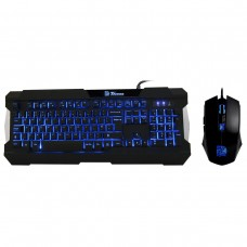 Thermaltake - Commander multi-light - kit teclado y mouse gamer